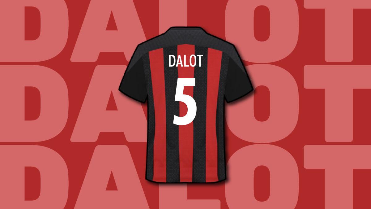 Il nuovo terzino del Milan Diego Dalot