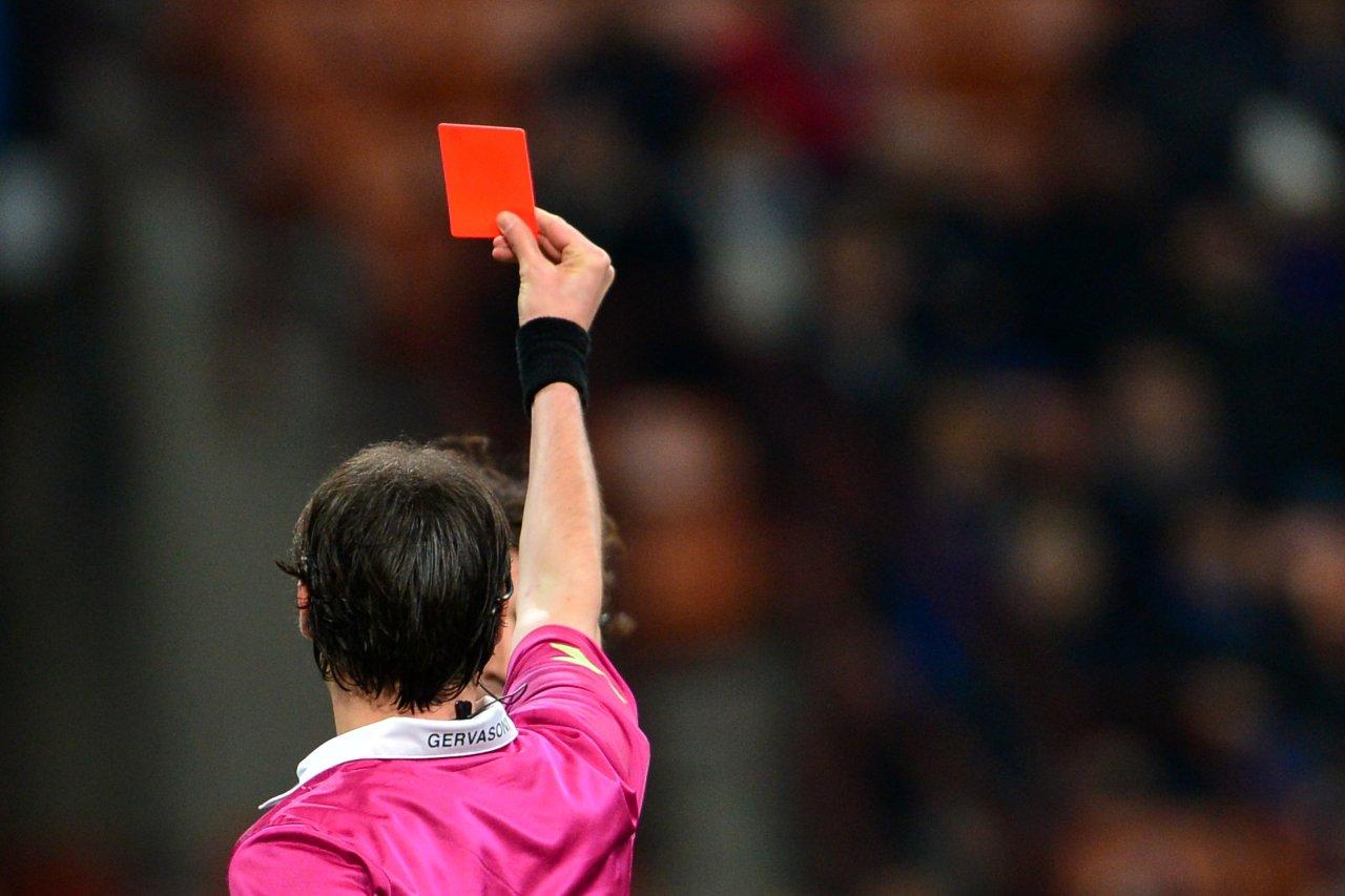 Cartellino Rosso in Serie A