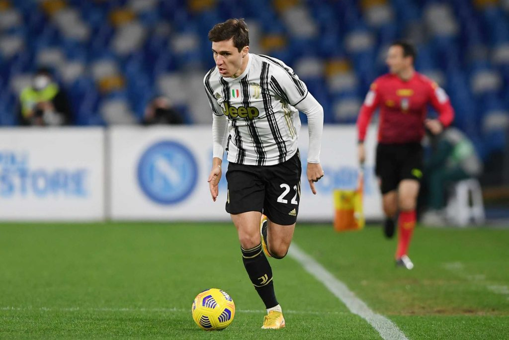 Federico Chiesa in maglia Juventus