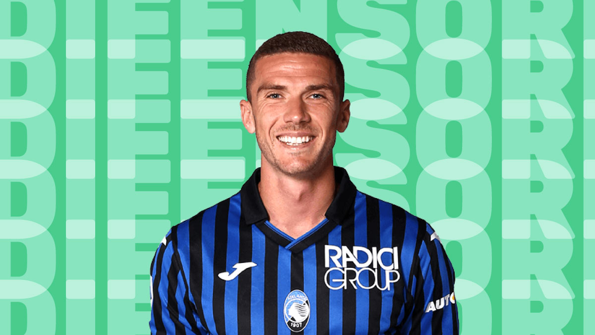 Robin Gosens in maglia Atalanta