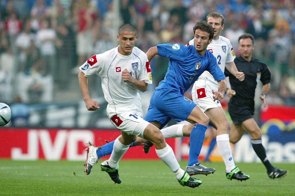 Alberto Gilardino in maglia Italia