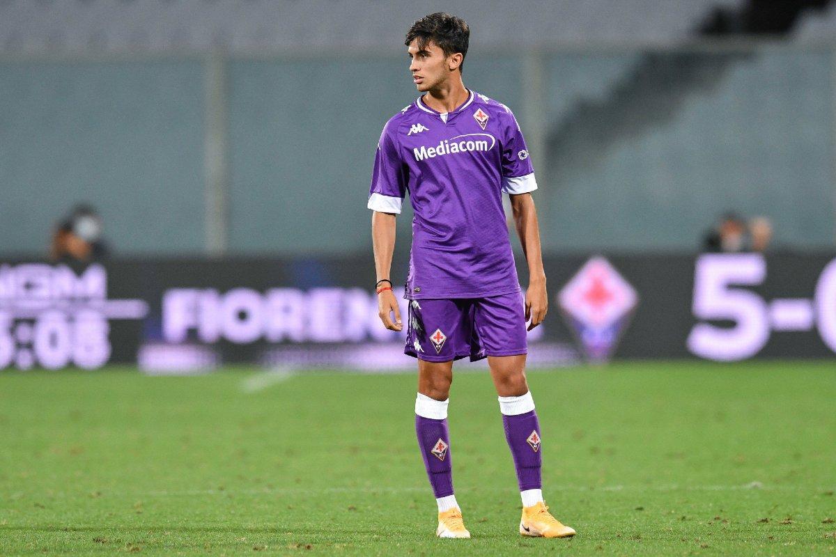 Tofol Montien in maglia Fiorentina