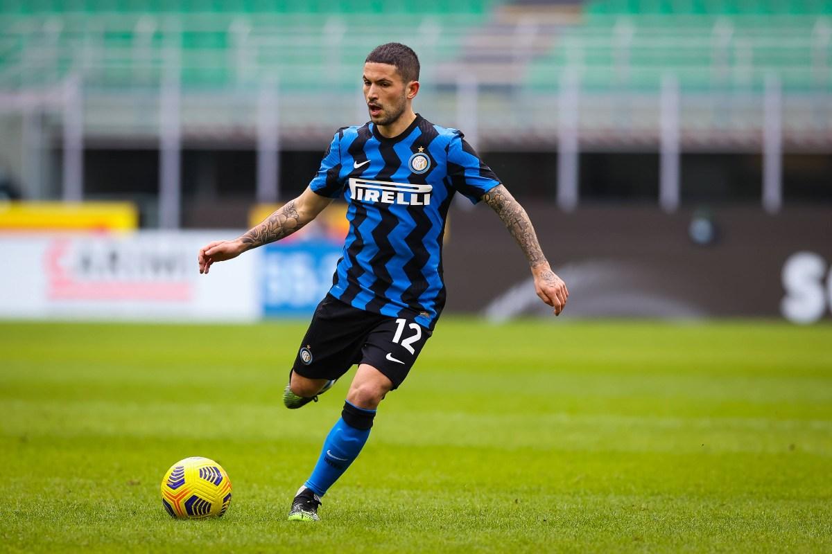 Stefano Sensi in maglia Inter