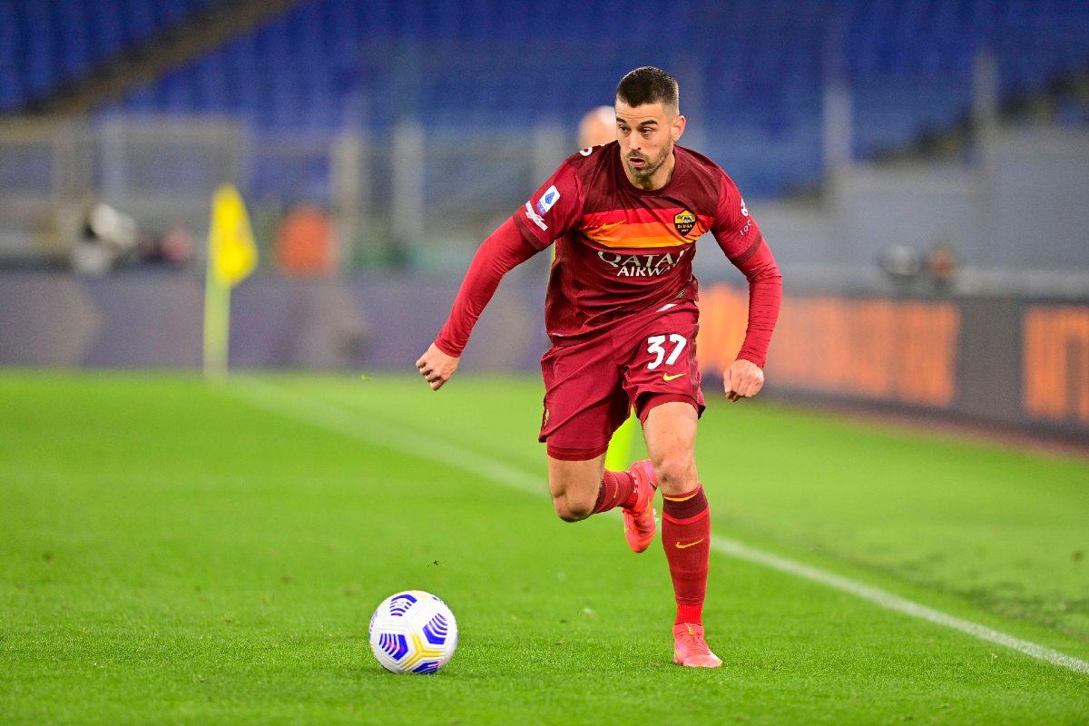 Leonardo Spinazzola in maglia Roma