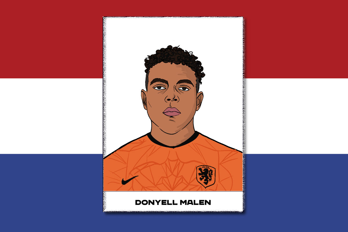 Donylel Malen per Euro 2020