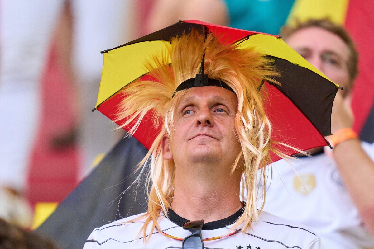 Euro 2020. tifosi della Germania