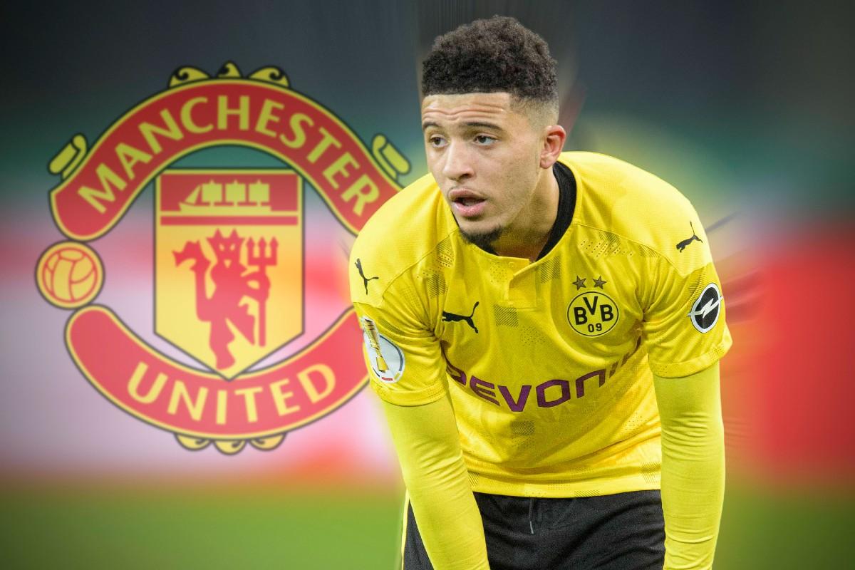 Jadon Sancho al Manchester United