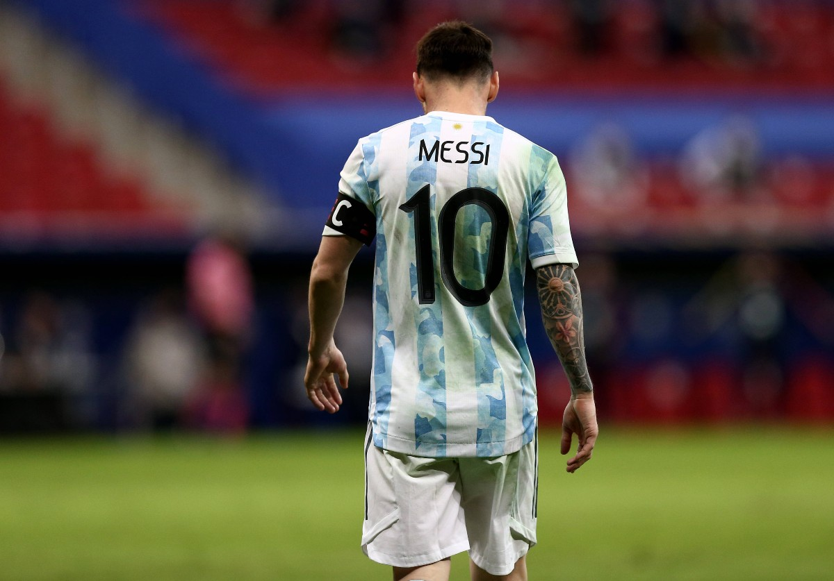 Leo Messi in maglia Argentina