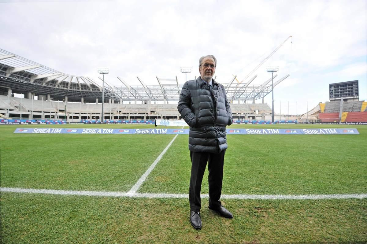 Gino Pozzo proprietario dell'Udinese