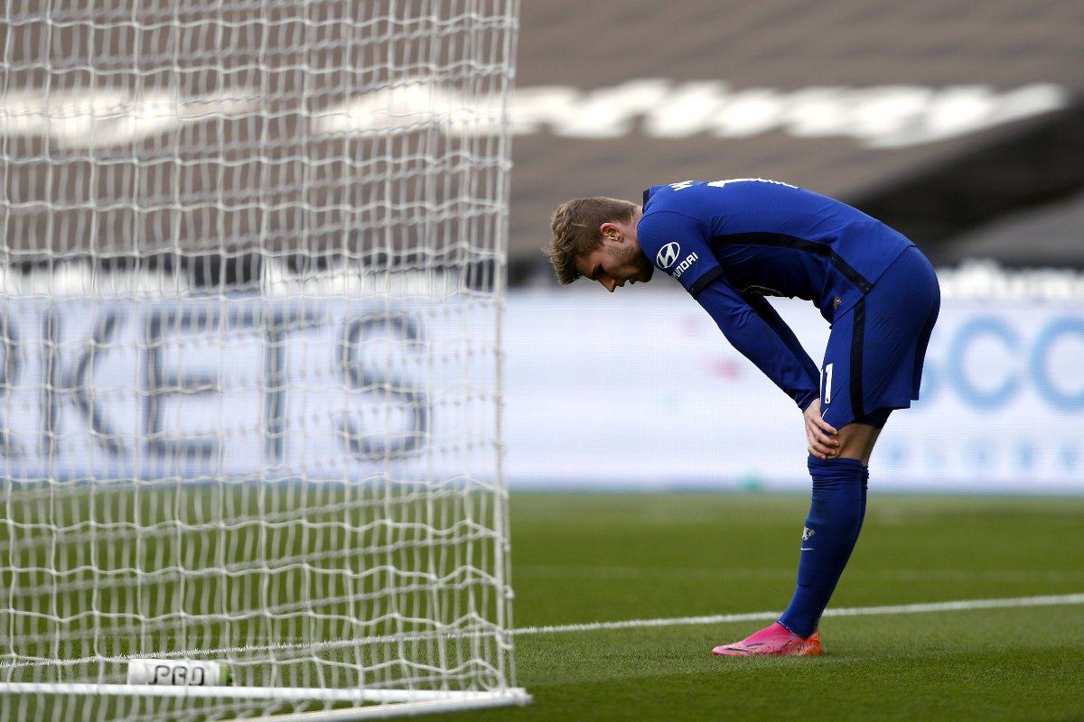 Timo Werner in maglia Chelsea