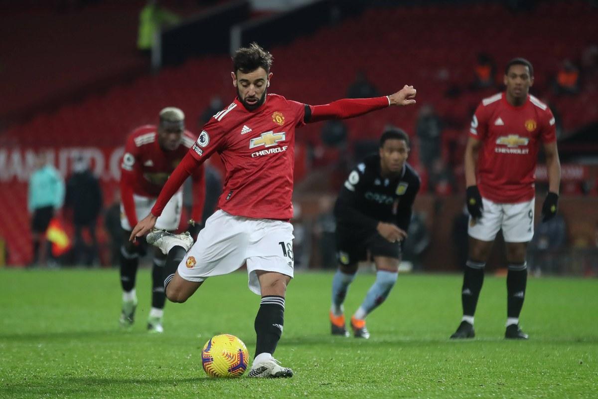 Bruno Fernandes, penalty
