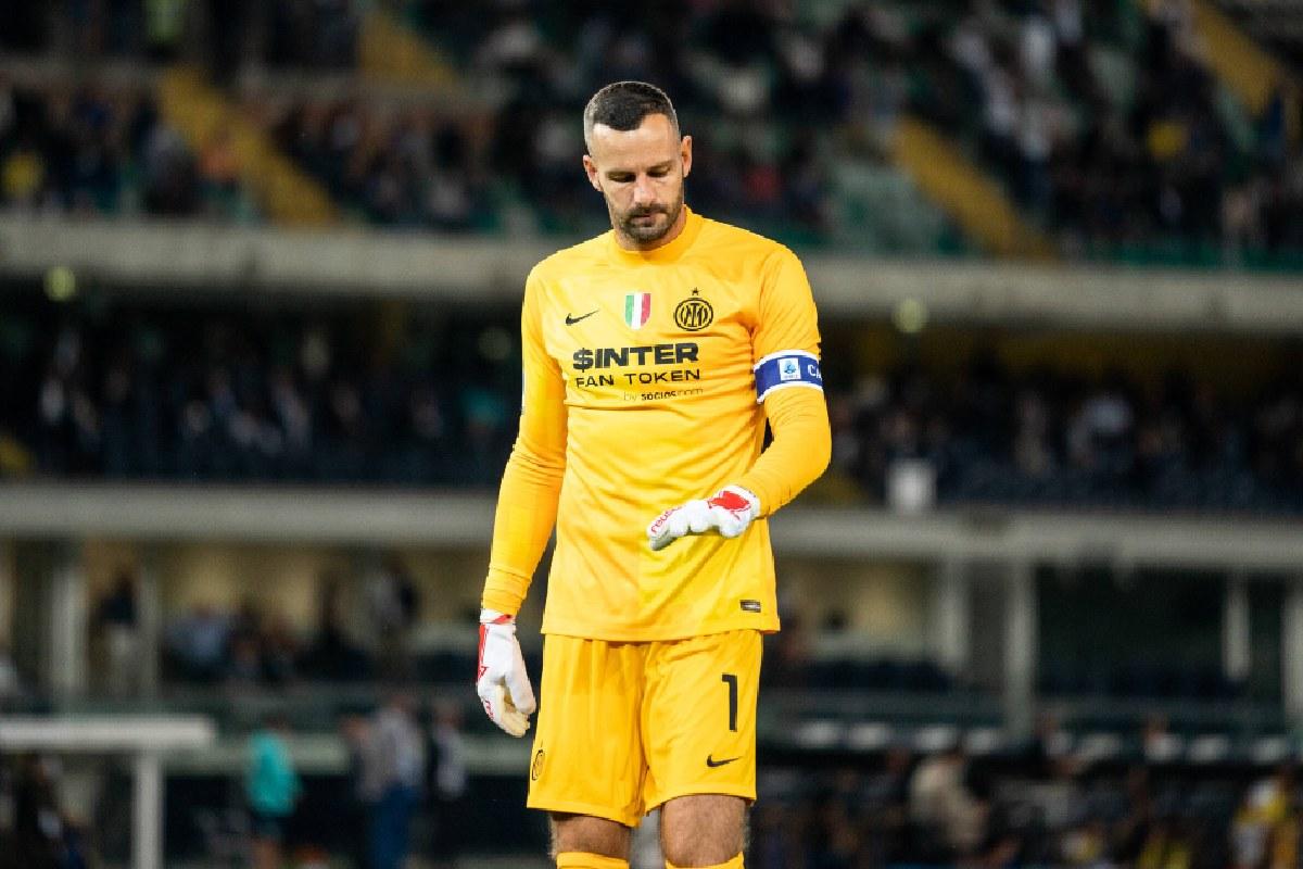 Samir Handanovic, capitano dell'Inter