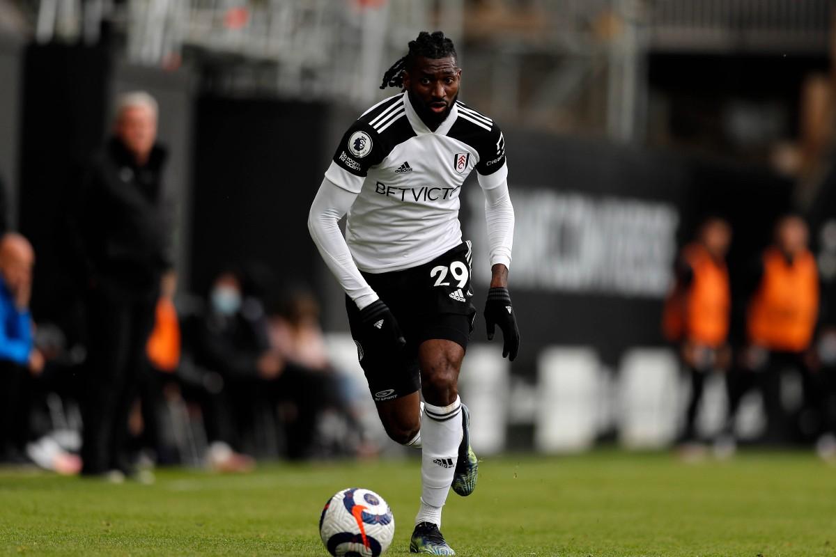 Anguissa con la maglia del Fulham 2020/21