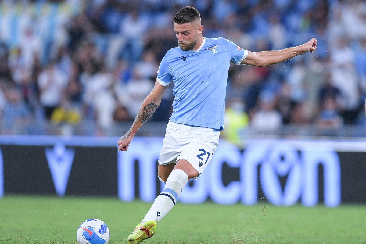 Milinkovic Savic con la maglia della Lazio