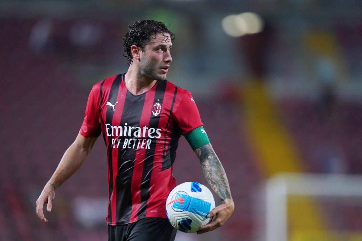 Davide Calabria, terzino Milan