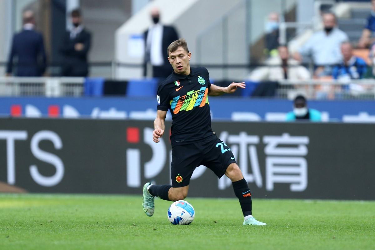 Nicolò Barella in maglia Inter