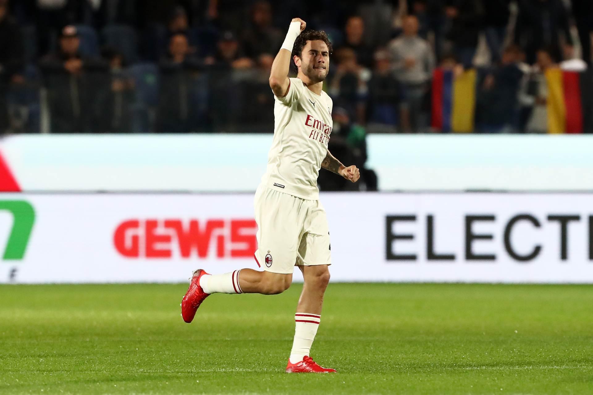 Davide Calabria in Atalanta Milan